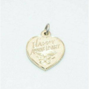 Creed Sterling Silver .925 Happy Anniversary